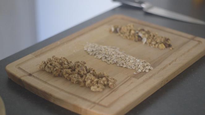 céréales granola bar recette plante ton assiette
