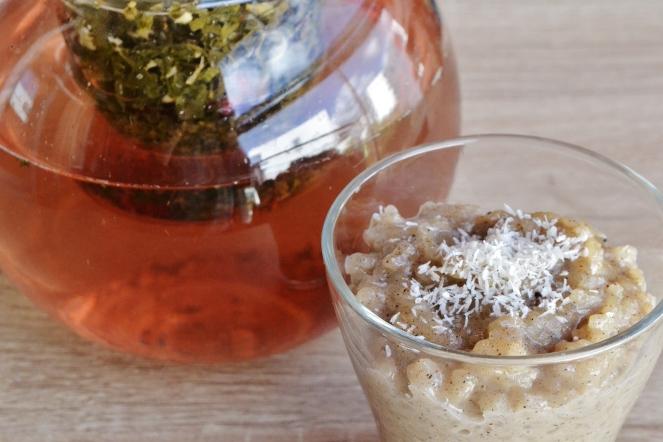 icead tea et riz au lait recette vegan plante ton assiette