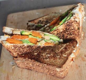 club toasté vegan avocat butternut