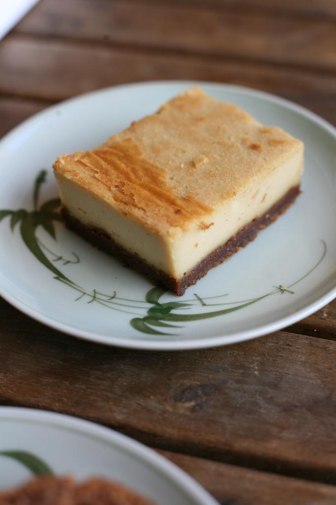 cheesecake vegan sweet greens