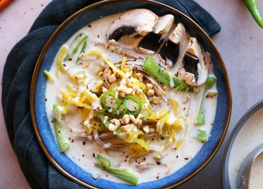 recette bouillon amande coco vegan